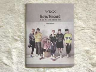 [UNSEALED] VIXX BOYS RECORD ALBUM