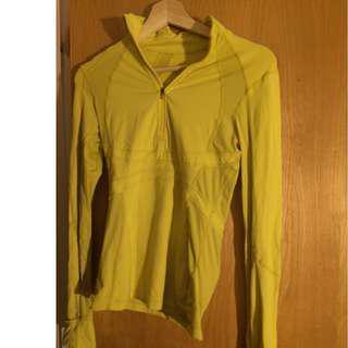 Lululemon long sleeved shirt/jacket (size Small)