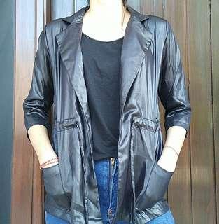 Leather Parka