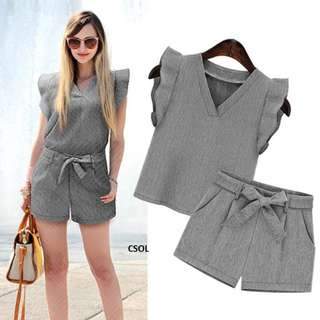TERNO BLOUSE AND SHORT