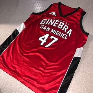 Brgy Ginebra Caguioa #47 Jersey Replica