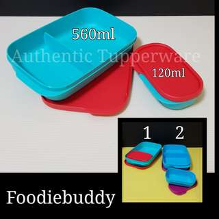 Authentic Tupperware Foodiebuddy Retail Price S$13.00 lunch box Tupperware