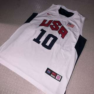USA Kobe Bryant #10 Basketball Jersey Replica
