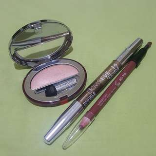Take all! Shiseido, Clarins, Davis Eye branded make up