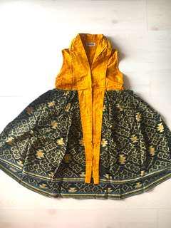 Batik tenun dress