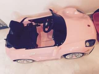 Pink Porsche Remote Car
