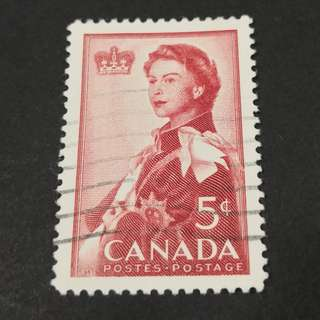 Canada. Royal Visit 1959 single stamp set.