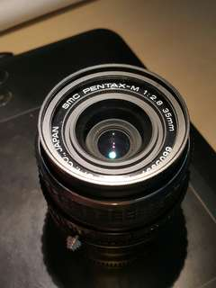 Smc pentax 35mm f2.8 manual lens