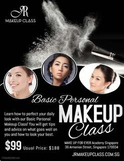 Personal Basic Makeup Class by Jrmakeupclass