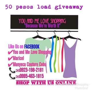 Load giveaway