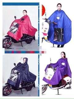 Single rider raincoat