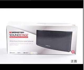 MONSTER/Beats Soundstage S3 家庭組合無線藍牙WIFI桌面音箱客廳影院(黑色)