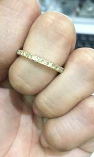 18k Gold Full Eternity Ring