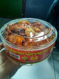 Sambel kentang khas Lampung