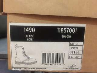 Authentic Dr. Marten's shoes