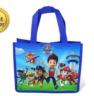 1for$1.20 12for$14 Paw Patrol Ryder Chase Skye Marshall Rocky Zuma Rubble Goodie Bag for Children Birthday