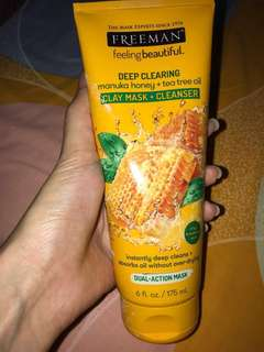 Masker Freeman Manuka Honey