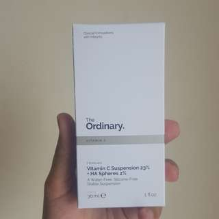 The Ordinary Vitamin C Suspension 23% + HA Spheres 2% [FREE SHIPPING LIMITED TIME]
