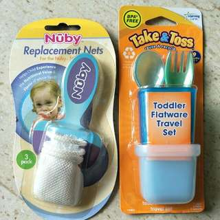 Feeding and Cleaning Accessories