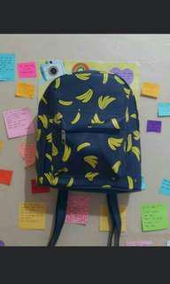 Banana Bagpack / Ransel Mini
