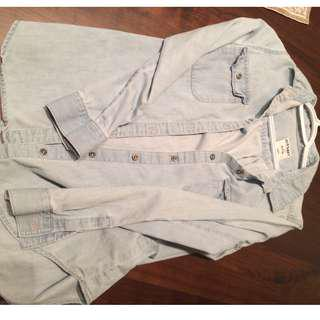 Denim Shirt, XS Old Navy