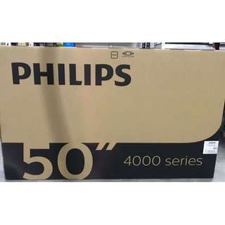 "BRAND NEW PHILIPS 50"" FULL HD DIGITAL READY TV FOR $719 -WARRANTY FROM PHILIPS/ FREE ANDROID BOX TO MAKE THE TV SMART. ONLY 5 SETS AVAILABLE- USUAL PRICE $899"