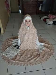 Mukena Sutra Prada Princess Syantik