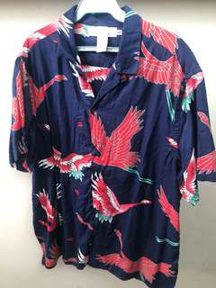 H&M Oversized printed polo