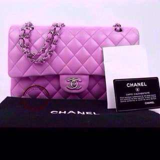Authentic Chanel double Flap lambskin