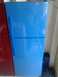 Kulkas POLYTRON 2 pintu bisa kredit tanpa dp