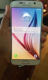 Samsung s6 32gb with minimal dents