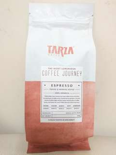 TWG Tarza caffe espresso 意式特濃咖啡豆, 200g whole coffee bean, made in Hong Kong, expiry 05.06.2019