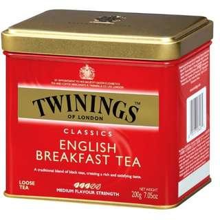 Twinings, Classics, English Breakfast Loose Tea