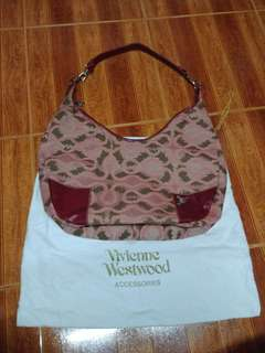 Vivienne westwood large hobo bag