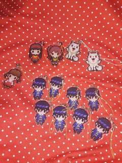 Persona 3 and 4 Keychain 35 each