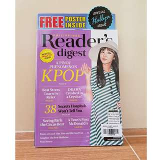 Reader's Digest: Hallyu 2016