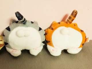 🚚 【2色】貓咪屁屁拉鍊零錢包