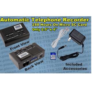 Telephone Recorder For Normal Telephone Recording