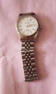 八十年代瑞士迪卡廿五石自動日曆手錶