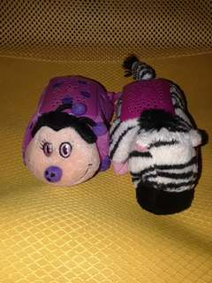 Pillowpets keychain tiny as pack