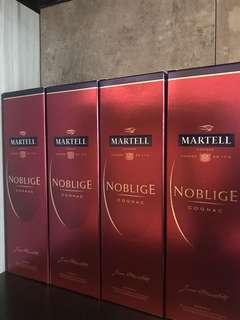 Martell Noblige Cognac 70cl. x4