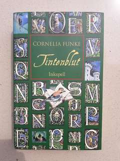 Novel Tintenblut : Inkspell, by Cornelia Funke