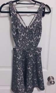 A&F cutout dress