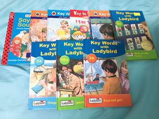 Ladybird Peter & Jane phonics storybooks
