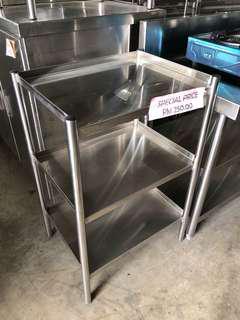 Stainless steel 3 tier rack