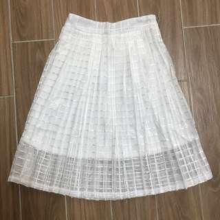 🚚 全新,東京著衣白色裙子