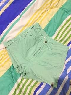 Turquoise Short