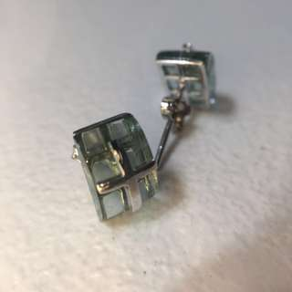 925 sliver sterling earring 純銀 耳環 十字架