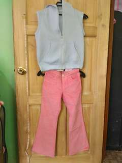 Girl's set clothes pink