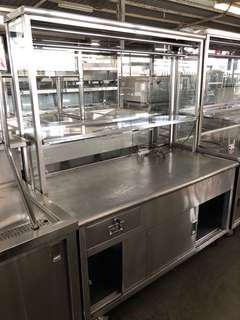 Stainless steel Chicken Rice Stall